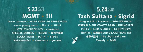 GREENROOM FESTIVAL'20 @ 横浜赤レンガ地区野外特設会場